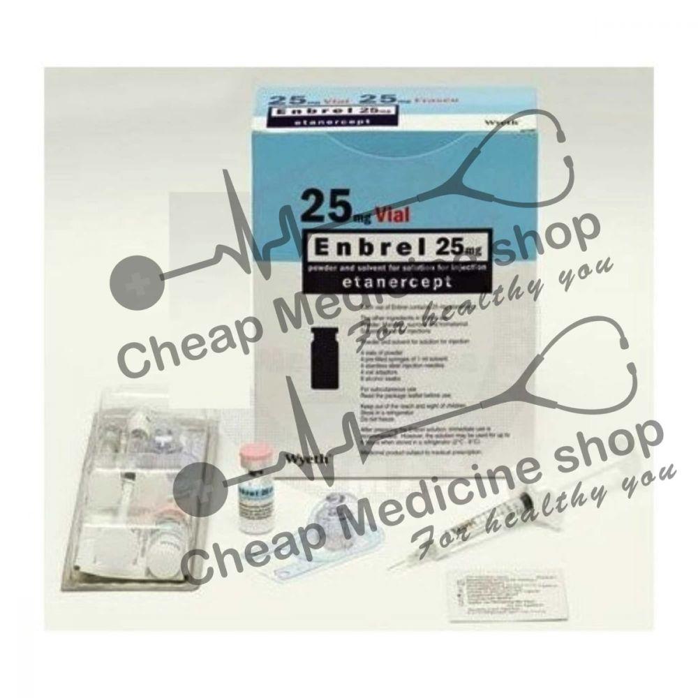 Buy Enbrel 25 Mg Tablet