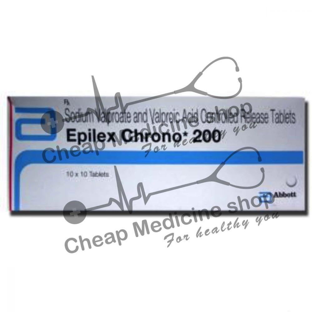 Buy Epilex Chrono 200 Tablet CR