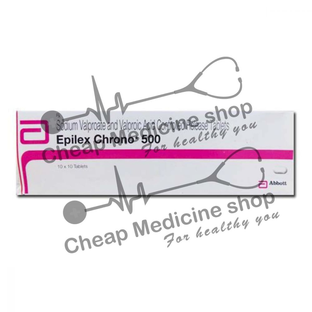 Buy Epilex Chrono 500 Tablet CR