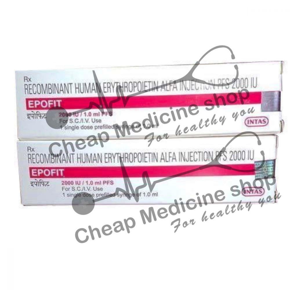 Buy Epofit 5000 IU 1 ml  Injection