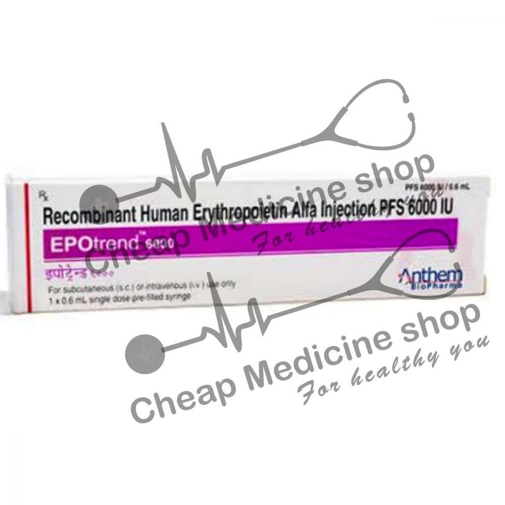 Buy Epotrend 6000 IU Injection