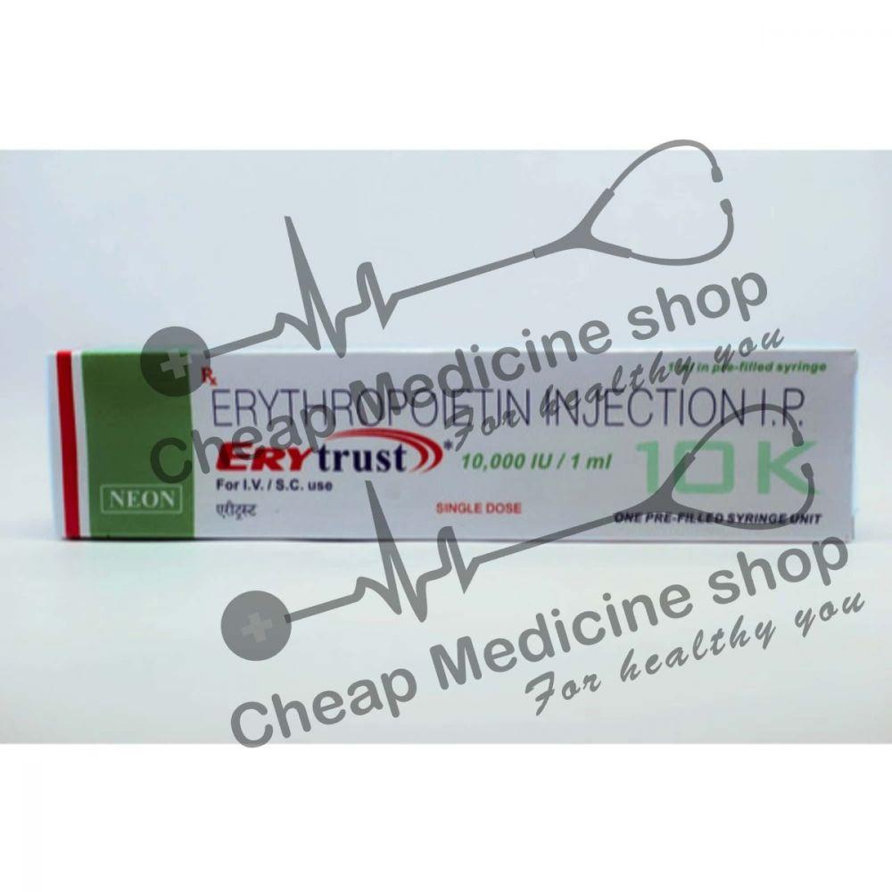 Buy Erytrust 10000 IU 1 ml Injection