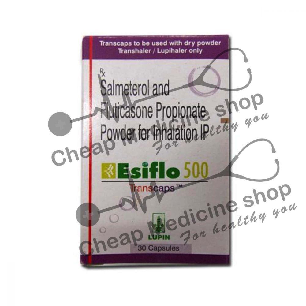 Buy Esiflo 500 Transcaps