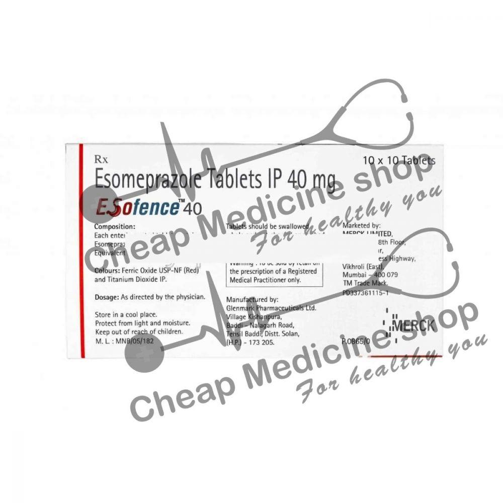 Buy Esofence 40 Mg Tablet