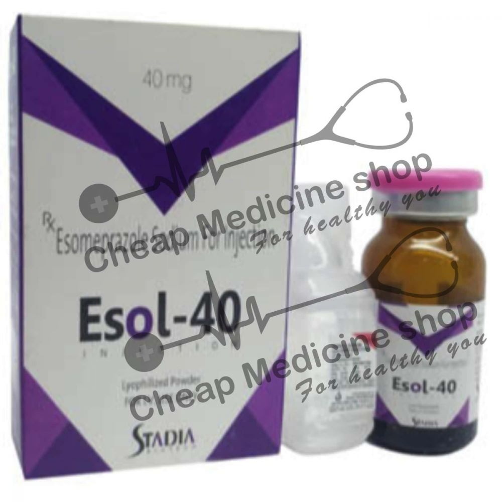 Buy Esol 40 Mg Injection