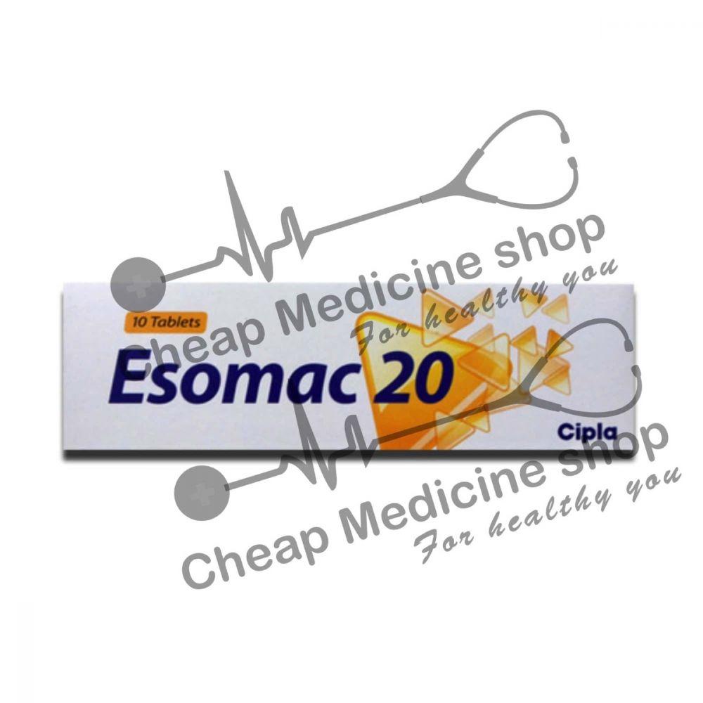 Buy Esomac 20 Mg Tablet