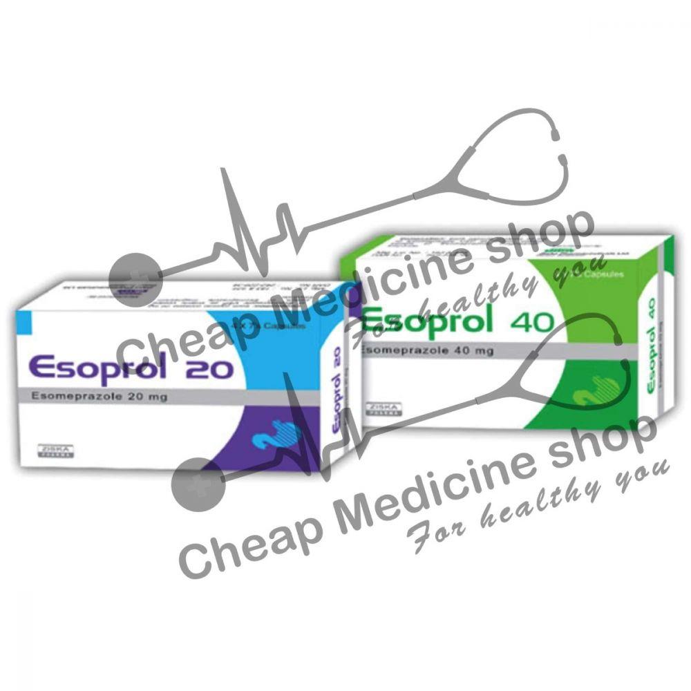 Buy Esoprol 20 Mg Tablet