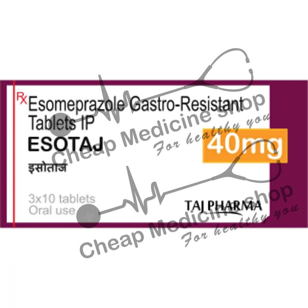 Buy Esotaj 40 Mg Tablet