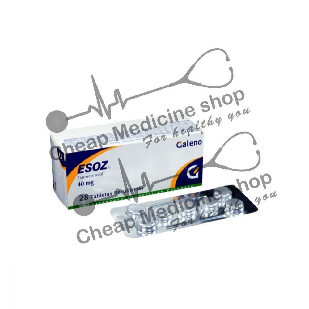 Buy Esoz 40 Mg Tablet