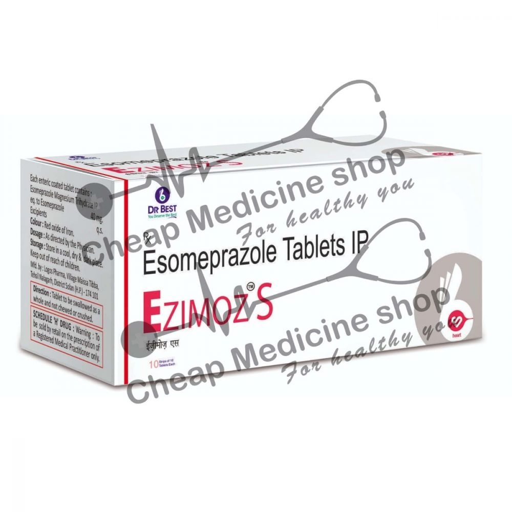 Buy Ezimoz S 40 Mg Tablet