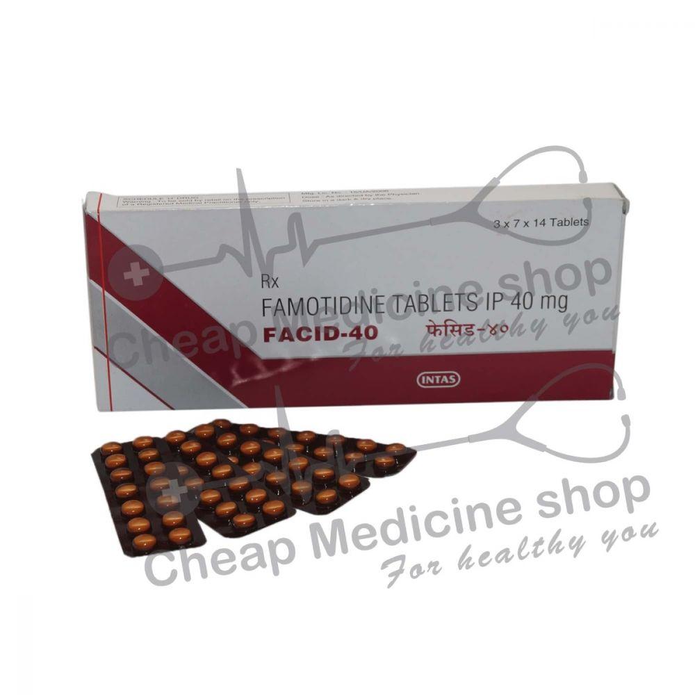 Facid 40 Mg, Pepcid, Famotidine
