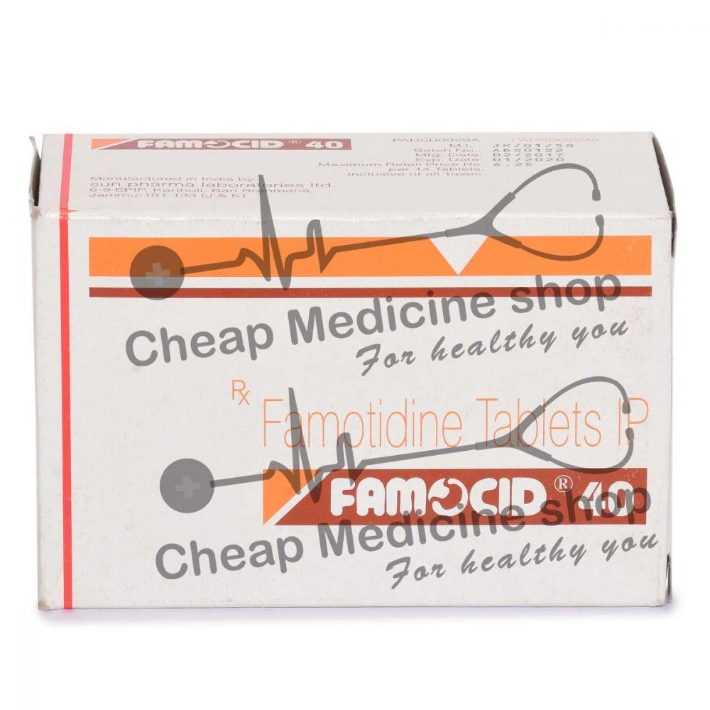 Famocid 40 Mg, Pepcid, Famotidine