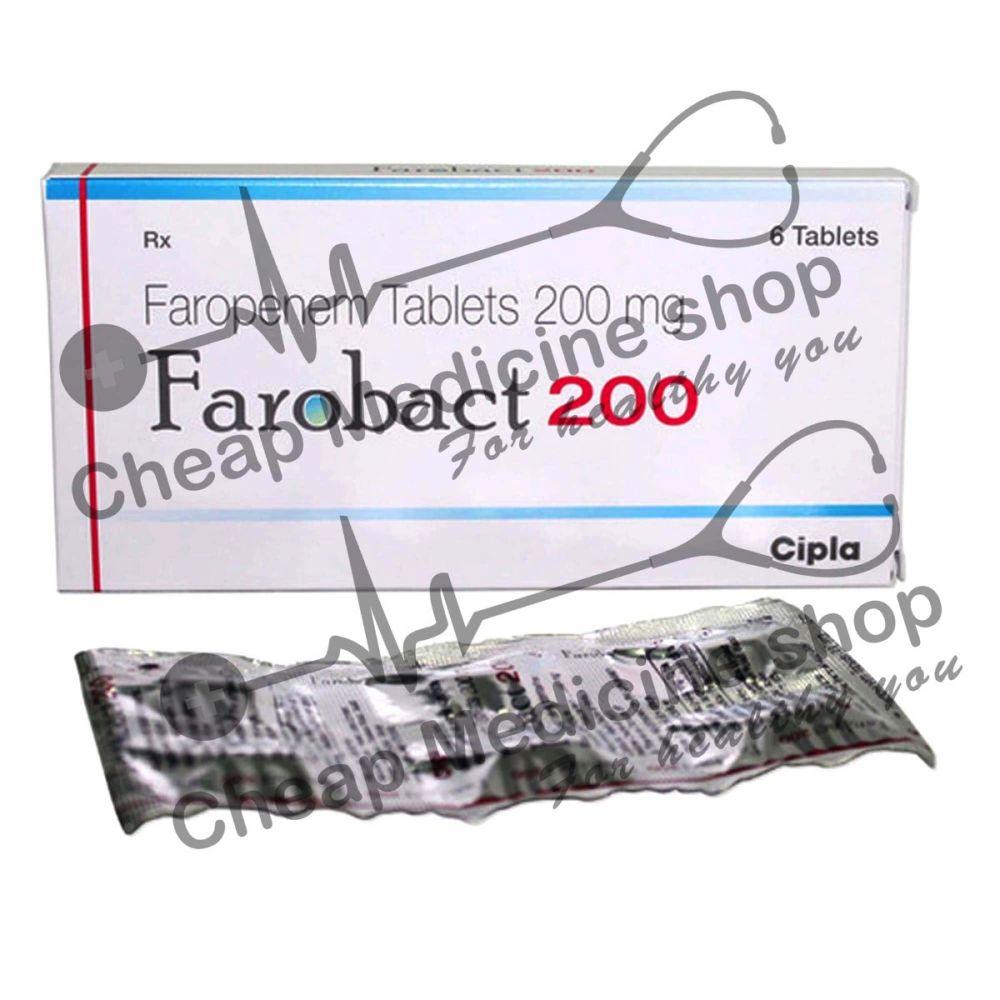 Buy Farobact 200 Mg (Faropenem)