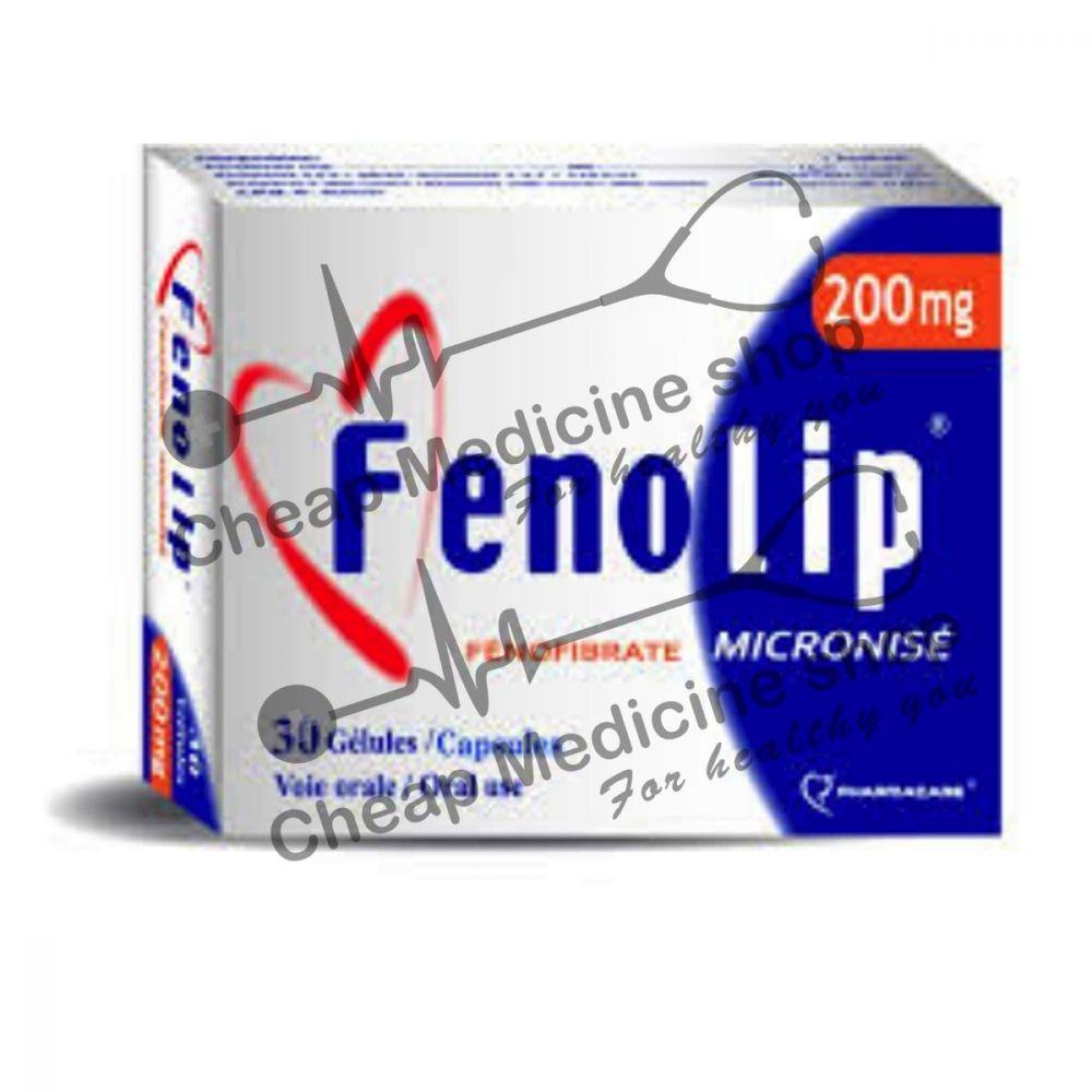 Buy Fenolip 200 Mg Capsule