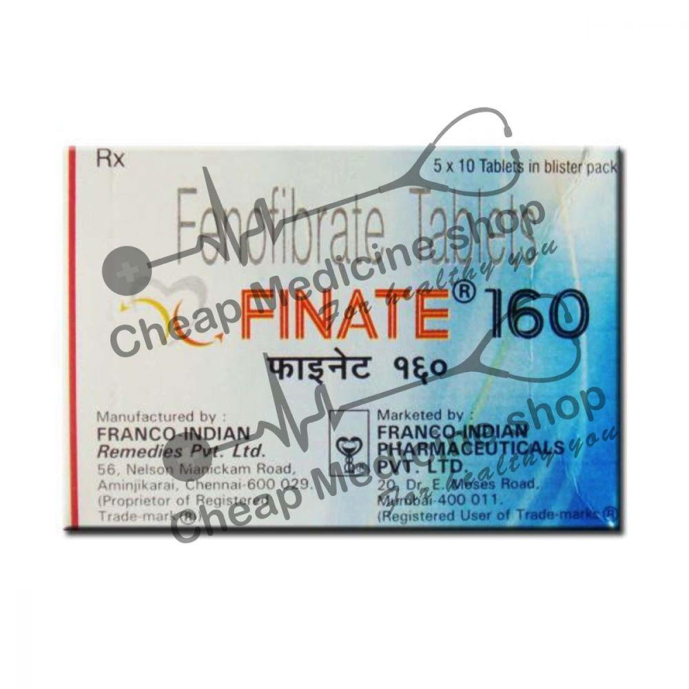 Buy Finate 160 Tablet