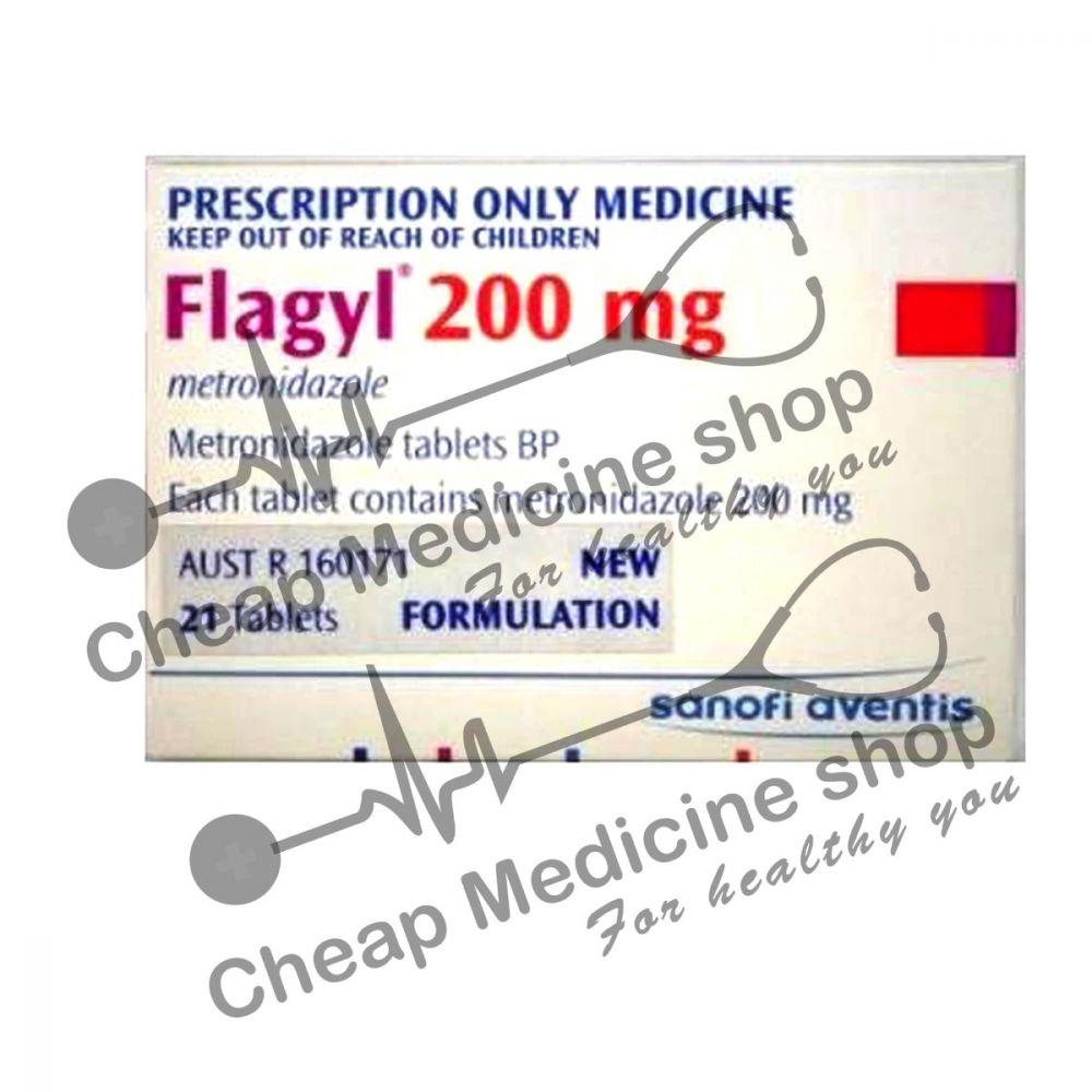 Buy Flagyl 200 Mg Tablet