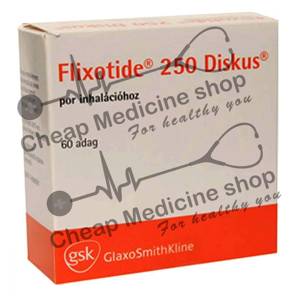 Buy Flixotide Discus 250 Mcg