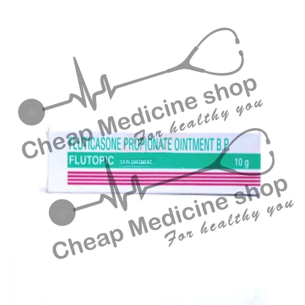 Buy Flutopic 10 gm (Fluticasone Propionate Ointment)