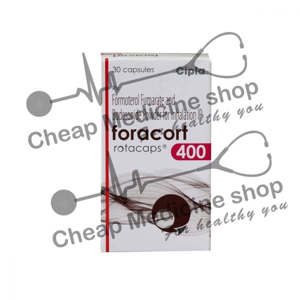 Foracort Rotacaps  400+6 Mcg