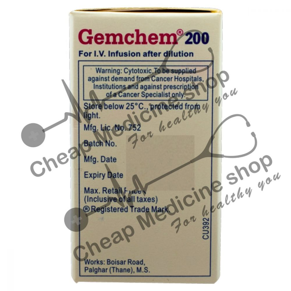Buy Gemchem 200mg Injection