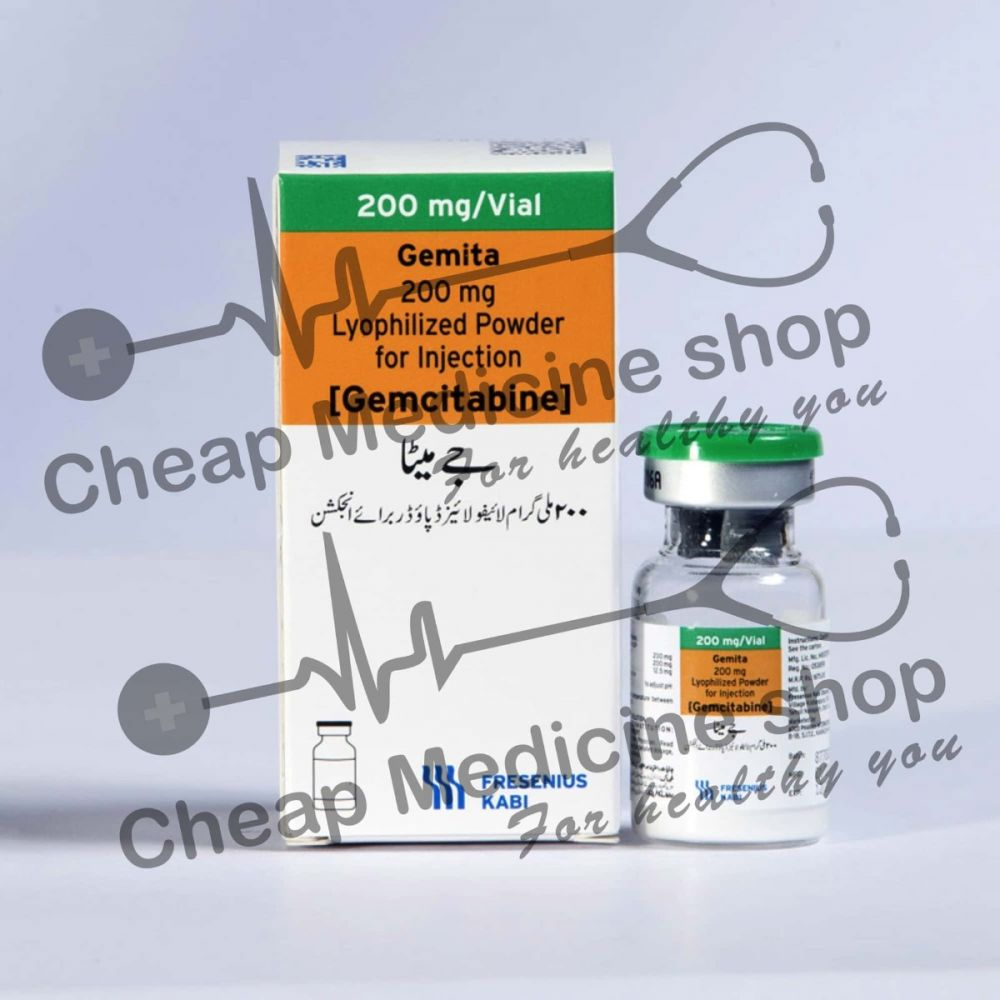 Buy Gemita 200 mg Injection