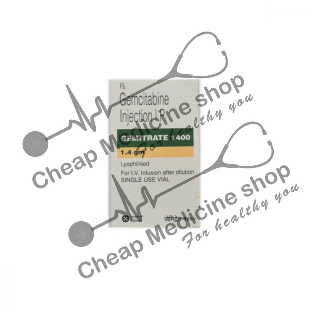 Buy Gemitrate 1000 mg Injection