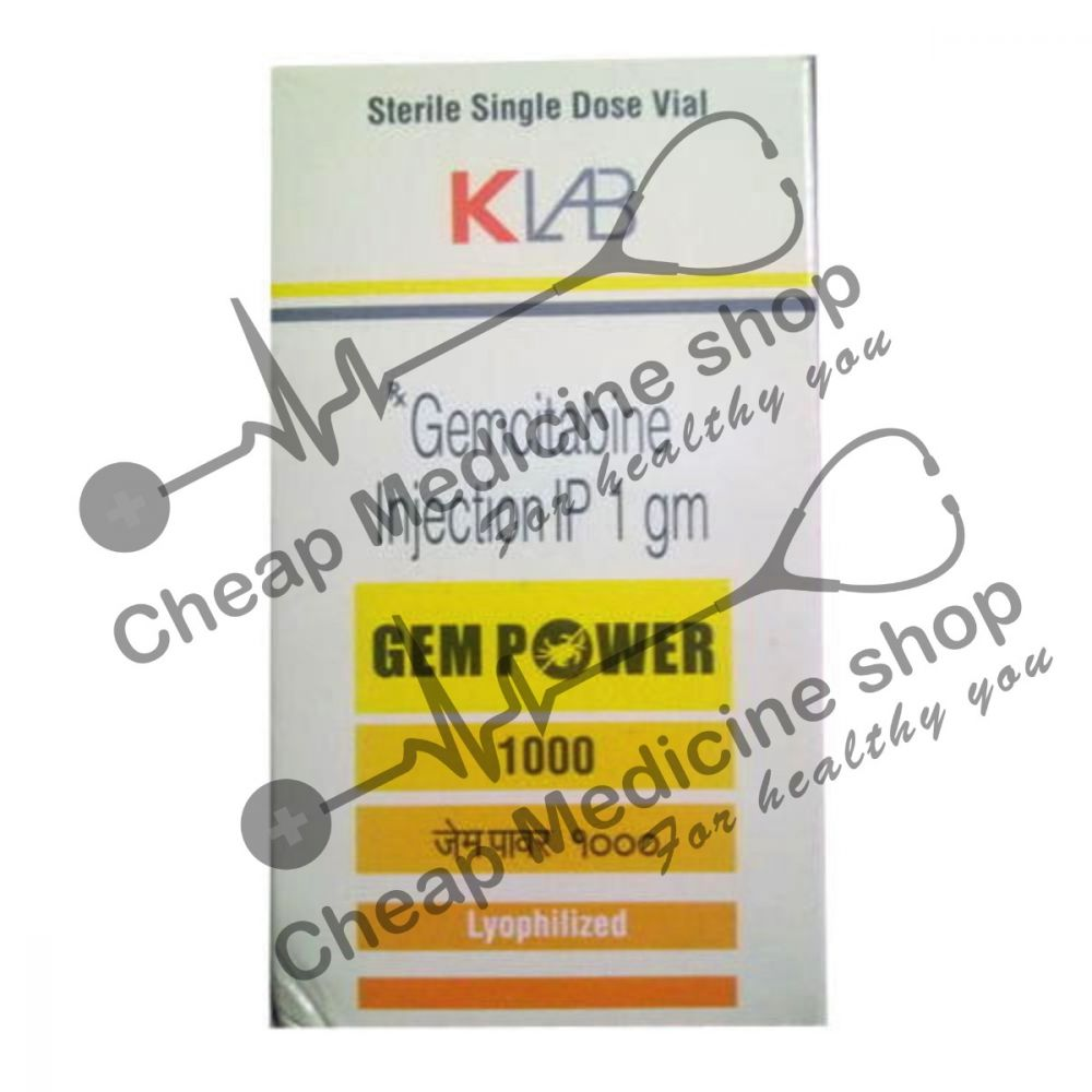 Buy Gempower 1 gm Injection