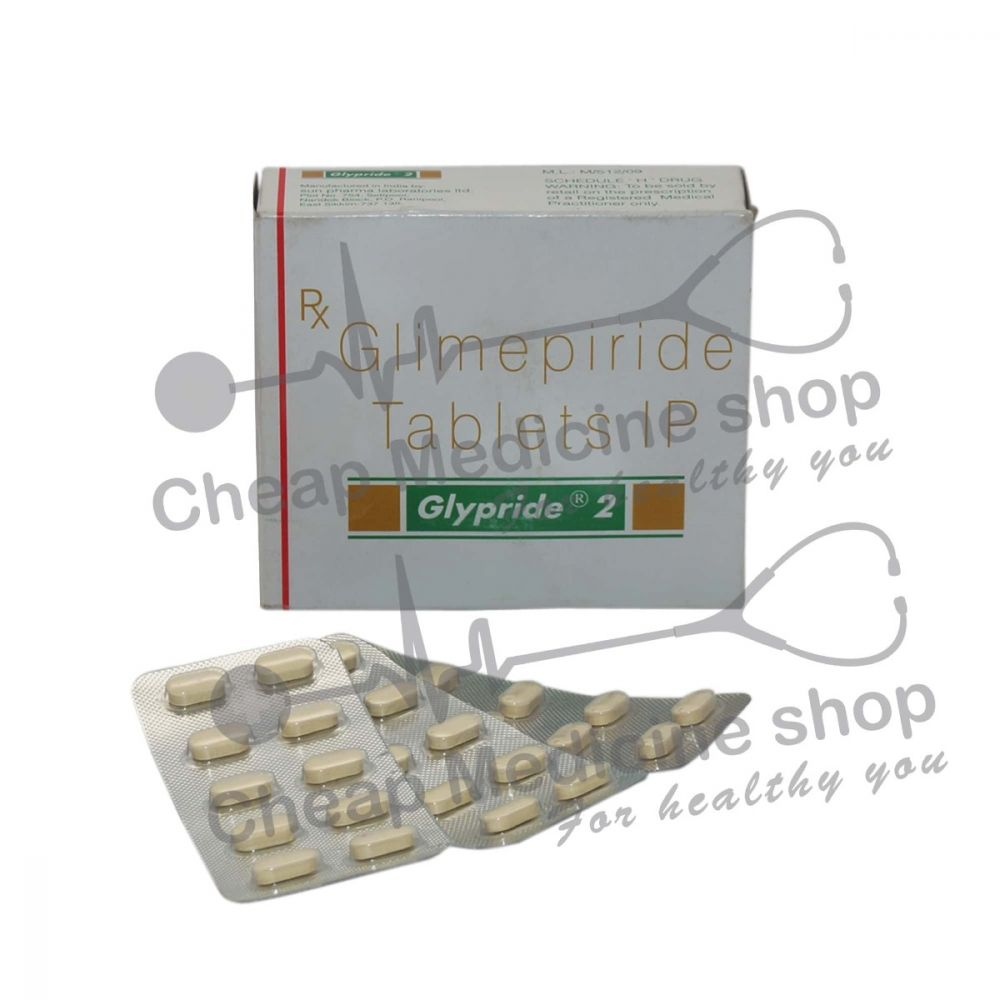 Glypride 2 Mg, Amaryl, Glimepiride