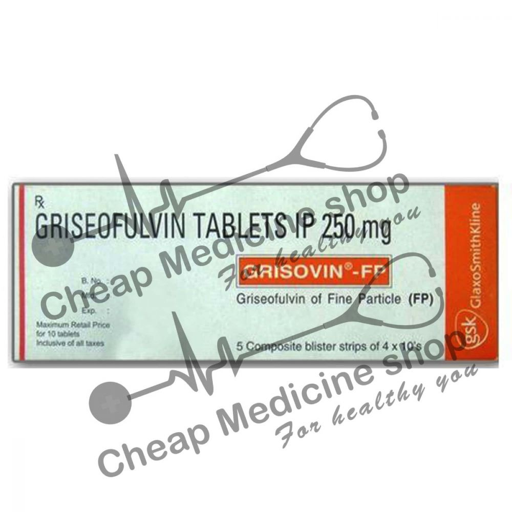 Buy Grisovin-FP 500 Mg Tablet (Fulvicin)