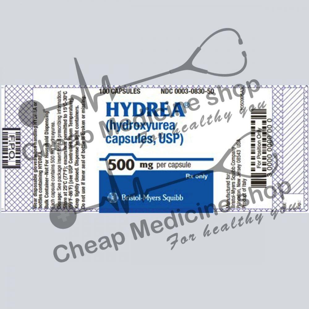 Buy Hydrea 500 Mg (Hydox, Hydroxyurea)