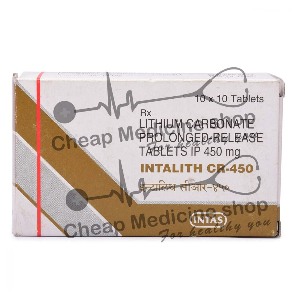 Intalith CR 450 Mg, Eskalith, Lithium Carbonate