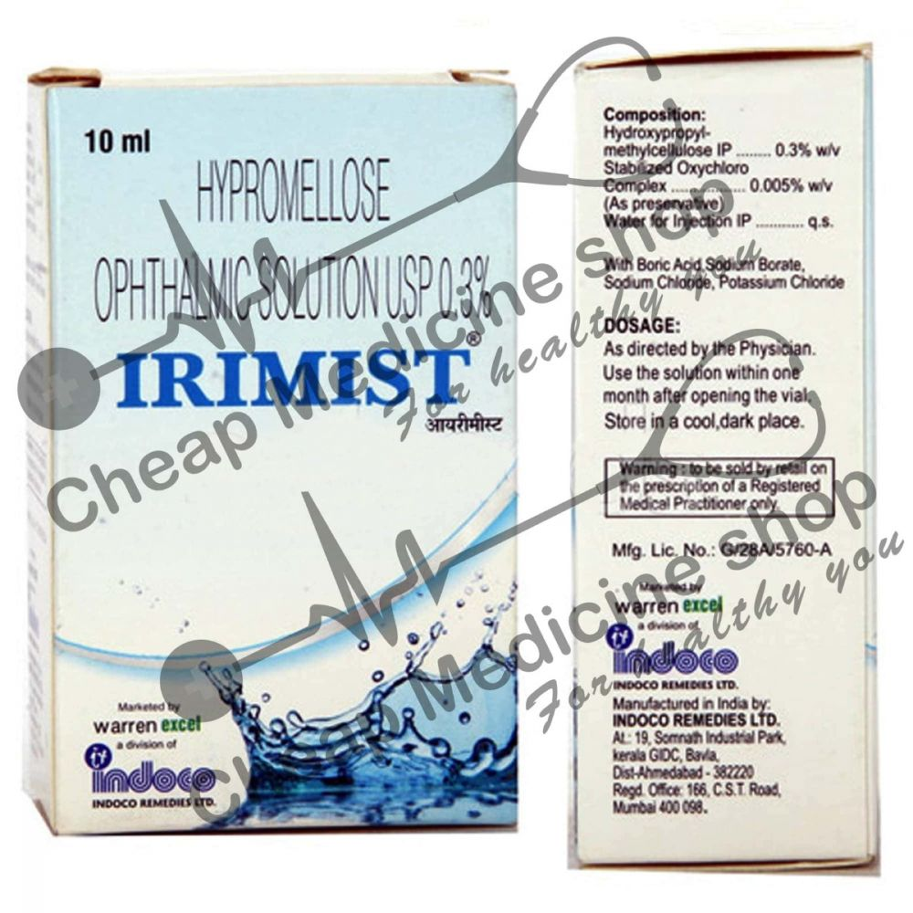 Buy Irimist 10 ml Eye Drop