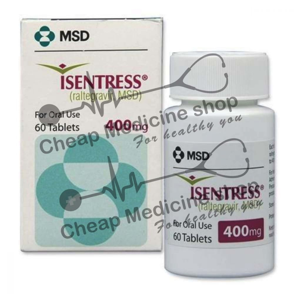 Buy Isentress 400 Mg Tablet