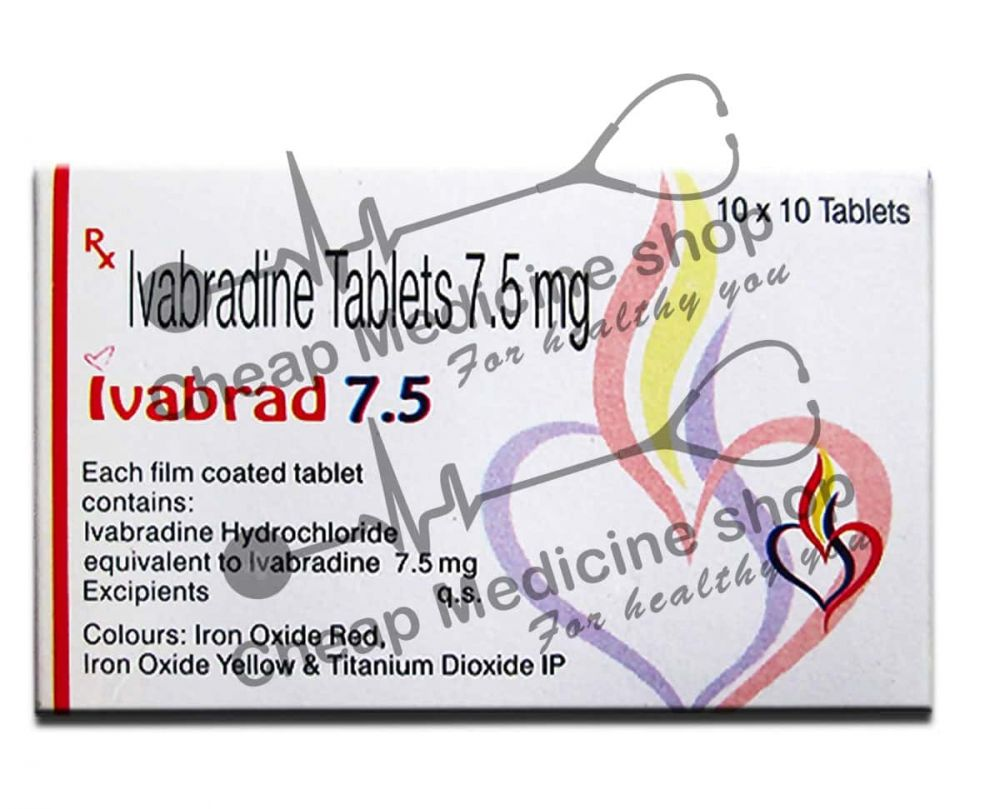 Buy Ivabrand 7.5 Mg (Ivabradine)