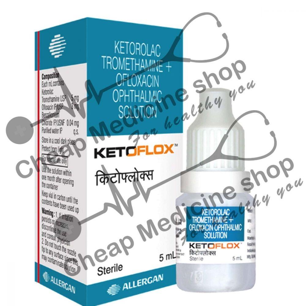 Buy Ketoflox 5 ml Eye Drop