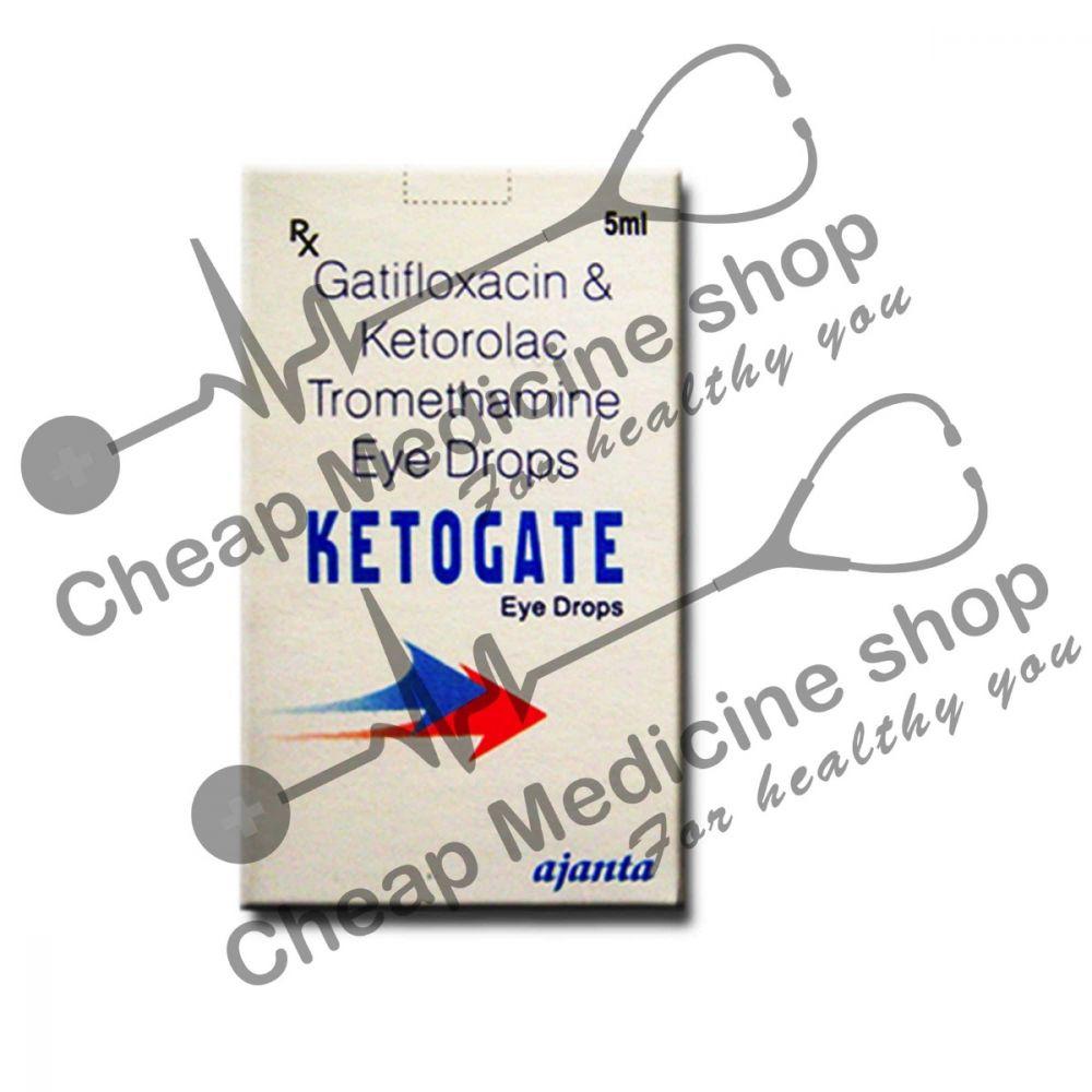 Buy Ketogate 5 ml Eye Drop