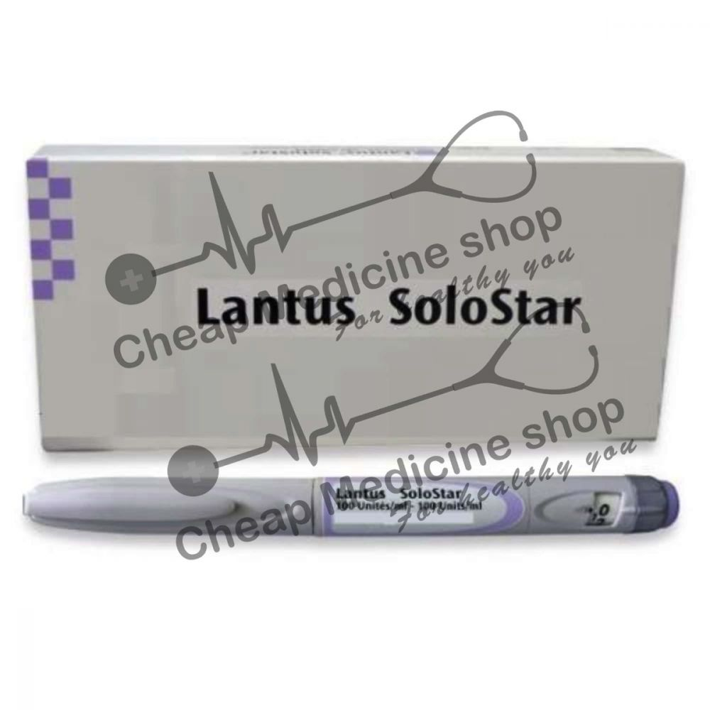 Buy Lantus Cartridge 100 IU 3ml Injection