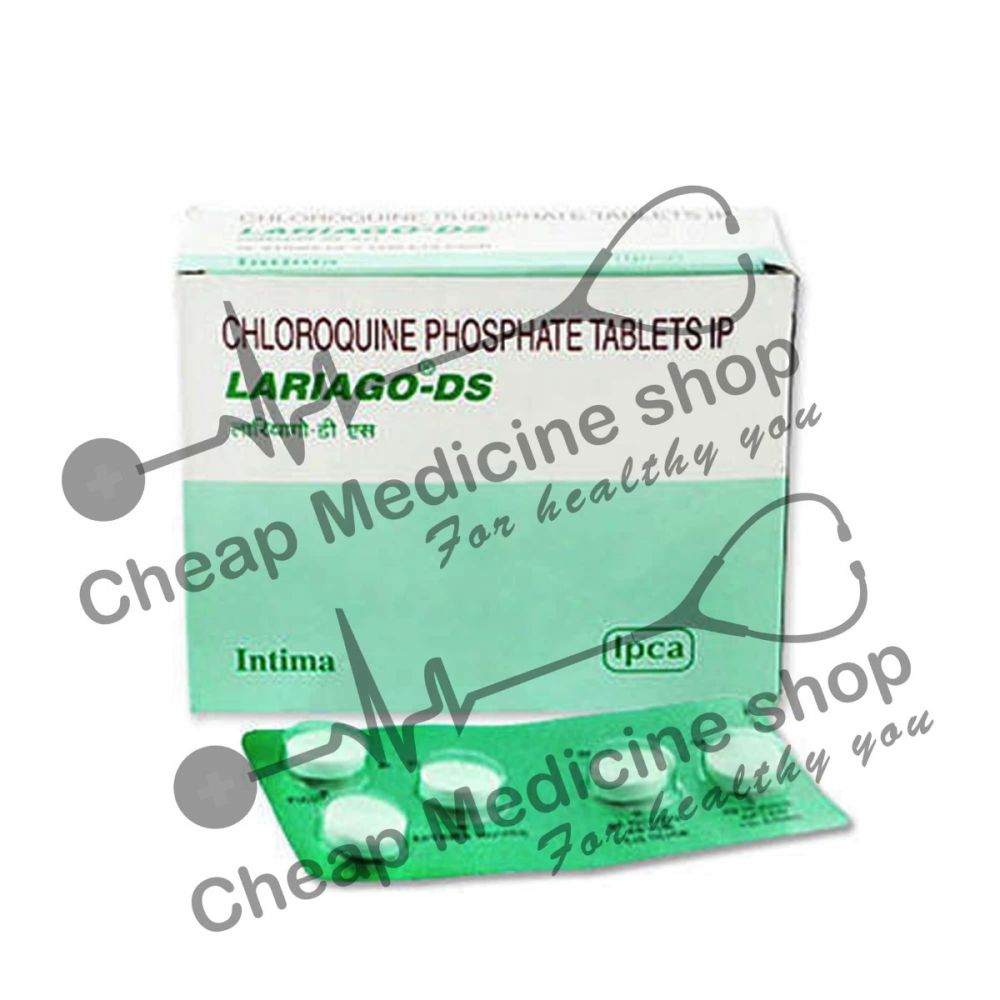 Buy Lariago DS 500 Mg Tablet (Aralen)