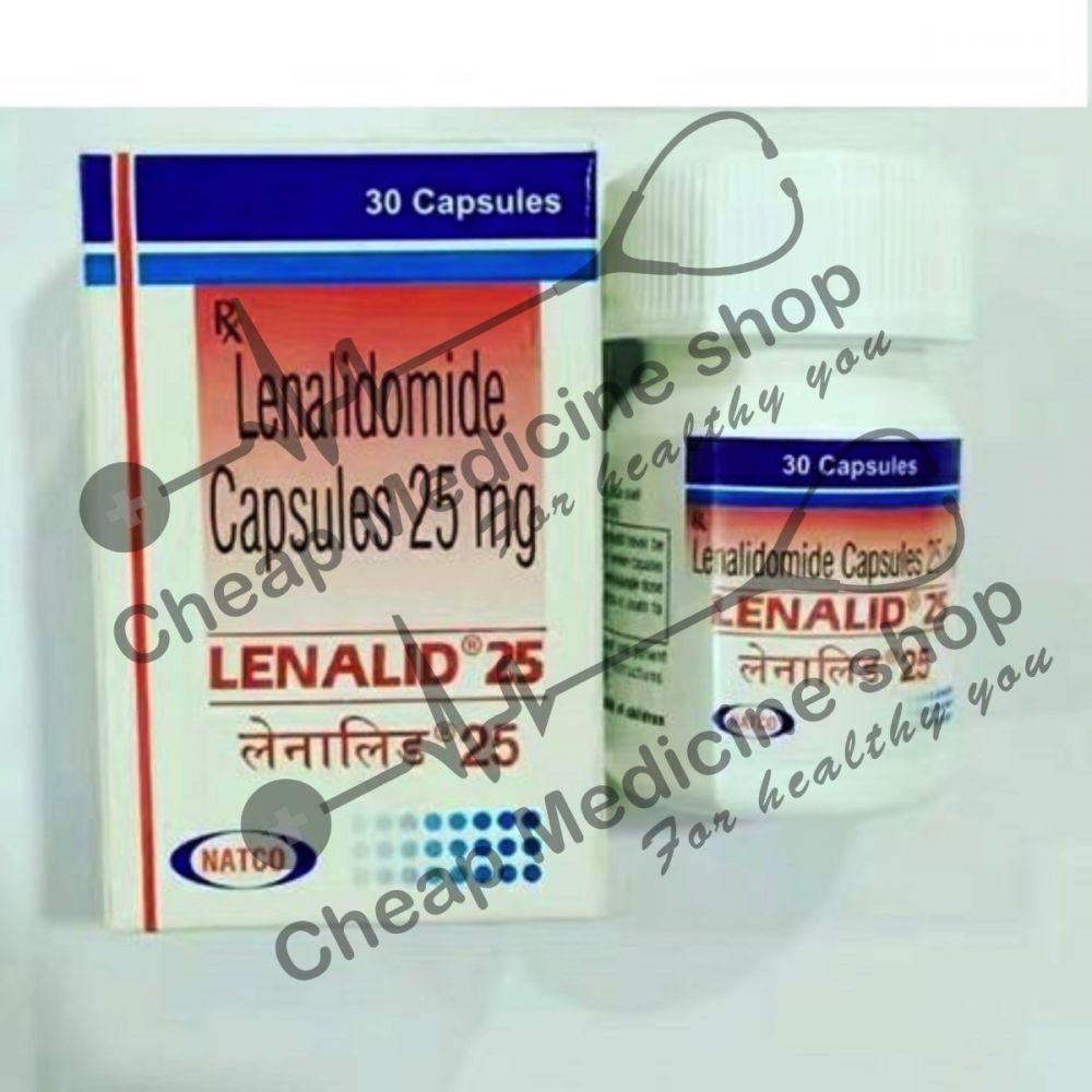Buy Lenalid MF 25 mg Capsule