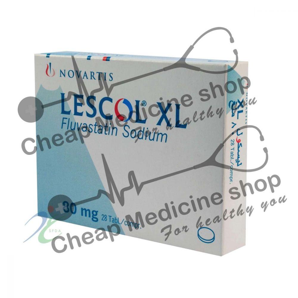 Buy Lescol Tablet XL 80 Mg (Lescol, Fluvastatin)
