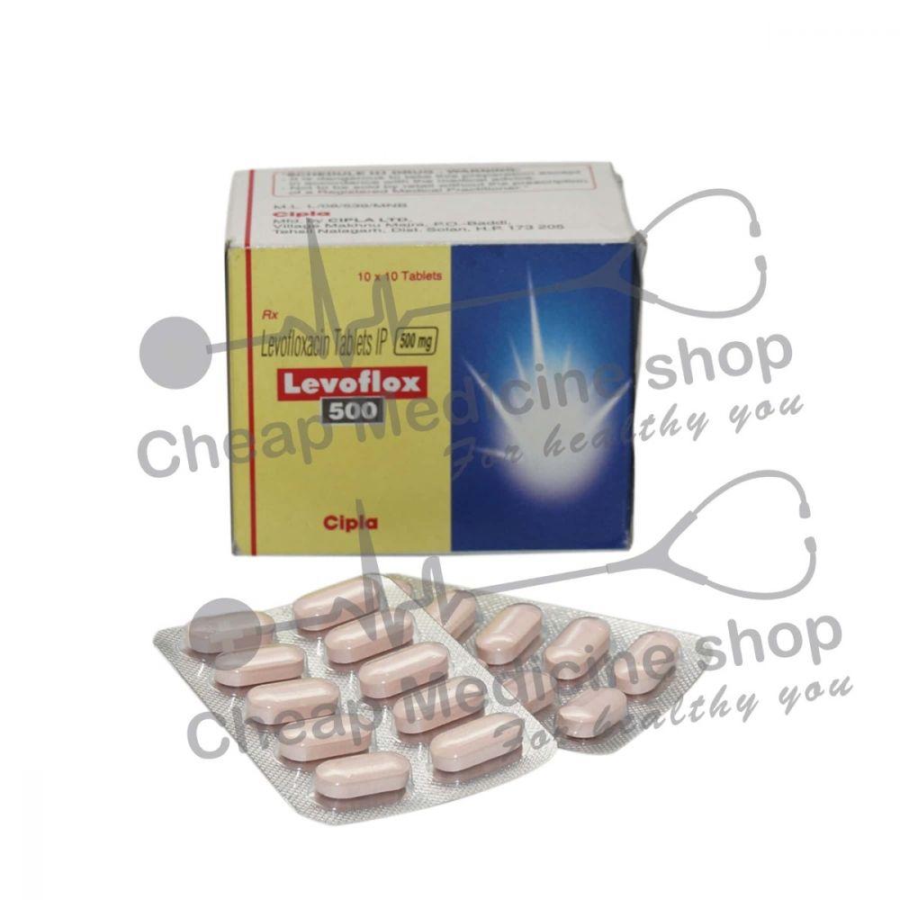 Levoflox 500 Mg, Levaquin, Levofloxacin