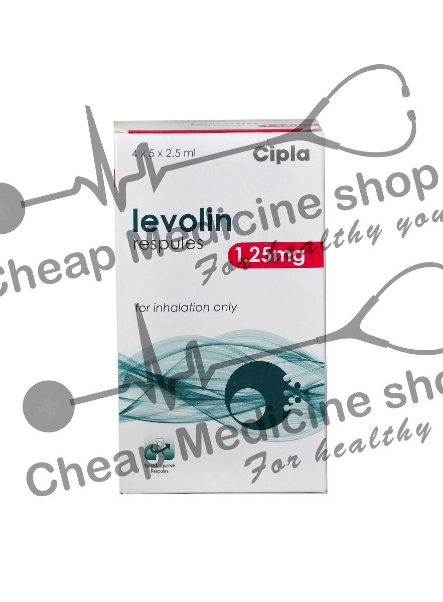 Levolin Respules  1.25 Mg/2.5ml