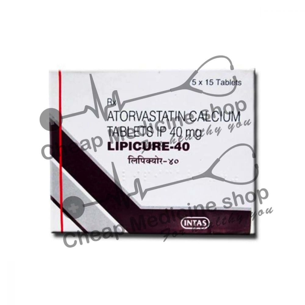 Buy Lipicure 40 Tablet