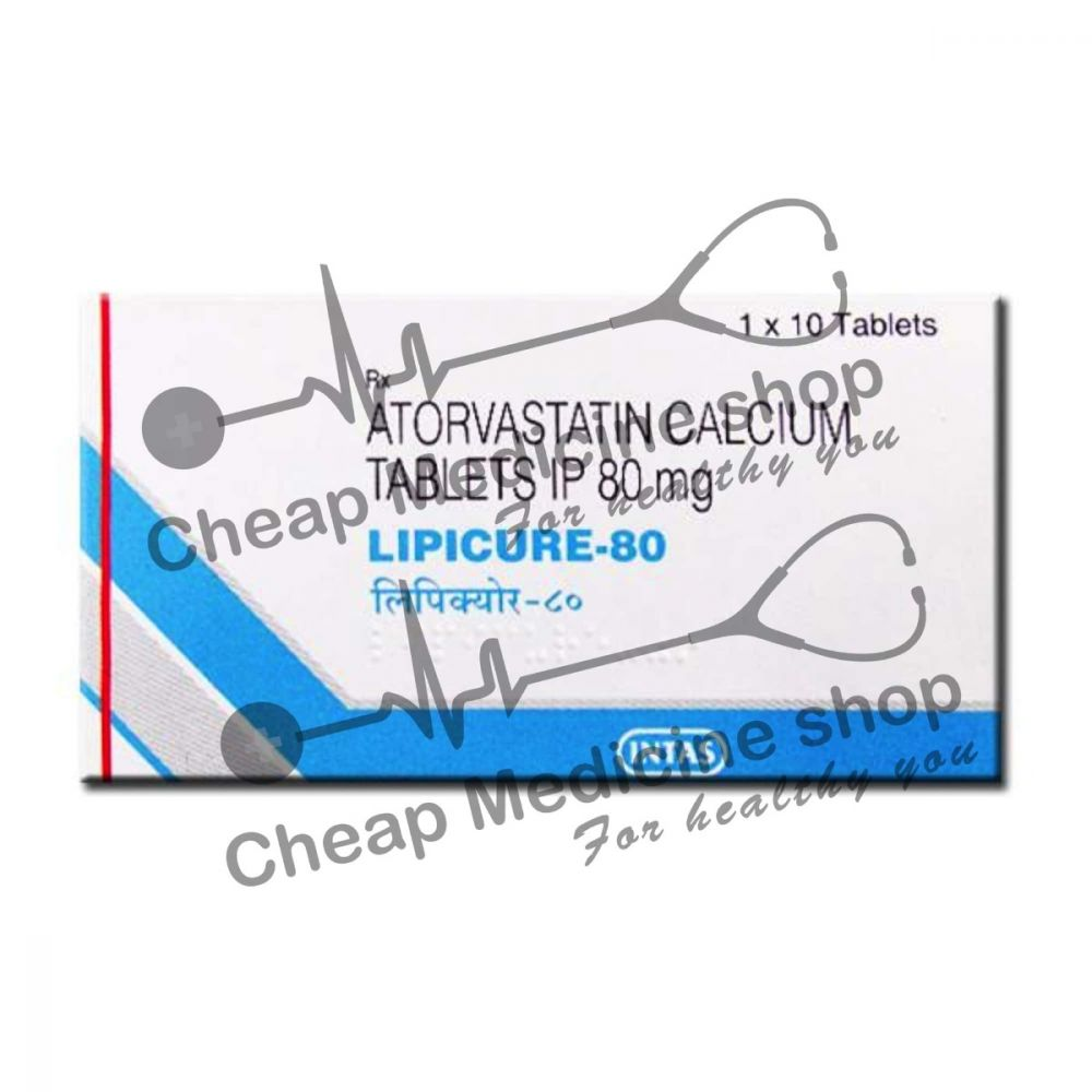 Buy Lipicure 80 Tablet