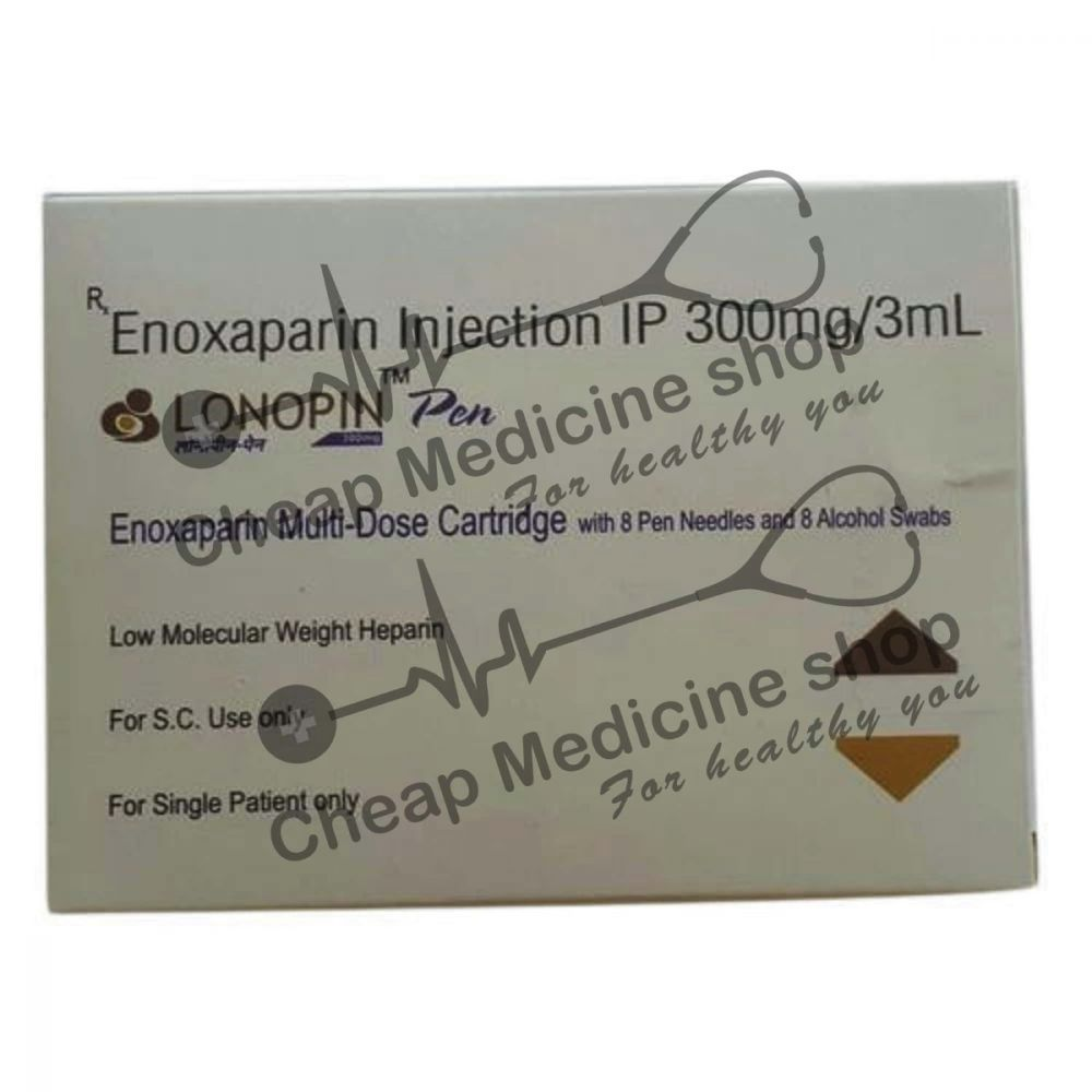 Buy Lonopin MD 300 Mg Injection