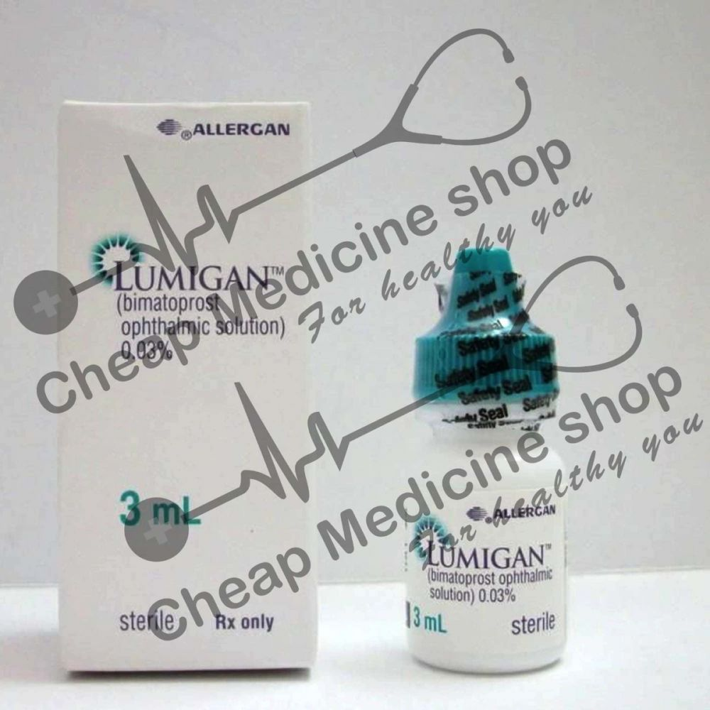 Buy Lumigan 3 ml (0.03%) Eye Drop