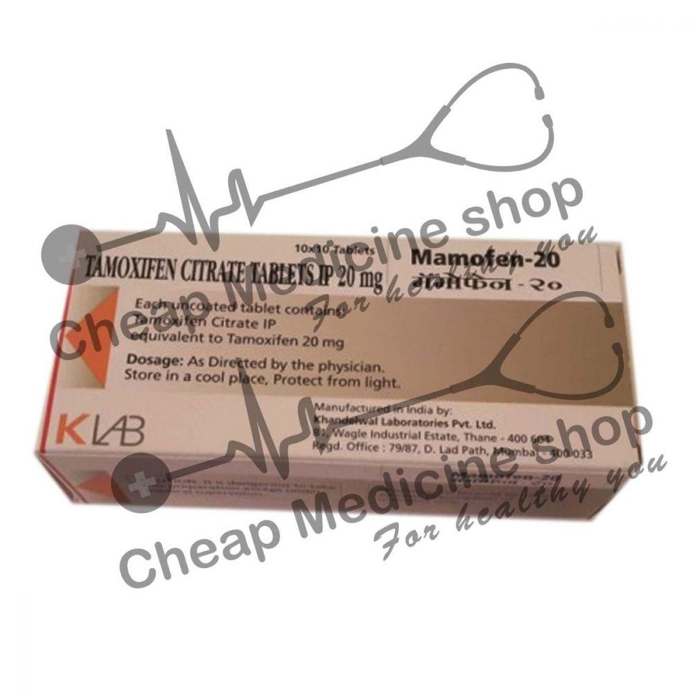 Buy Mamofen 20 Mg (Nolvadex)