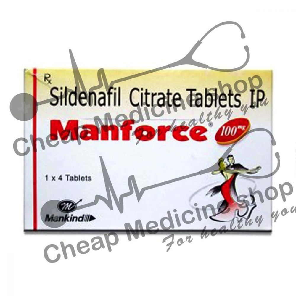 Buy Manforce 100 Mg