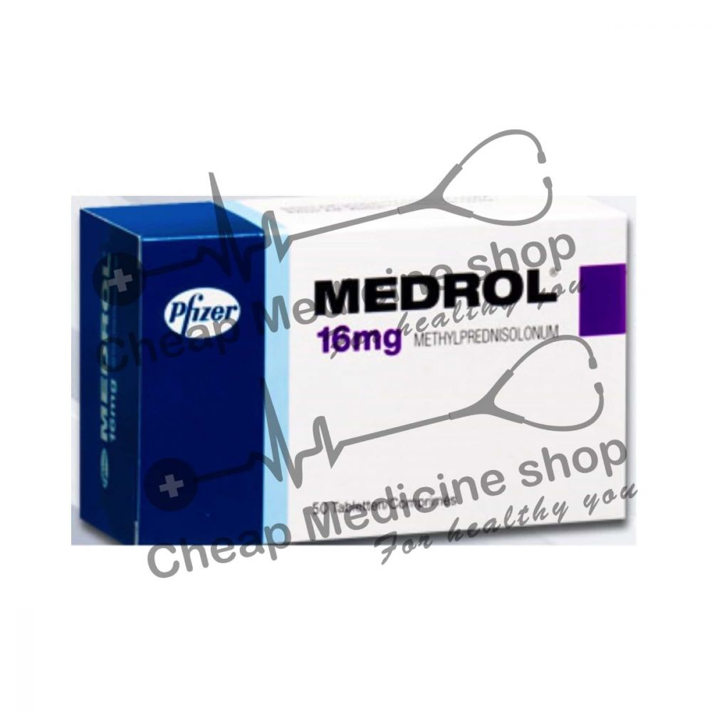 Buy Medrol 16 Mg
