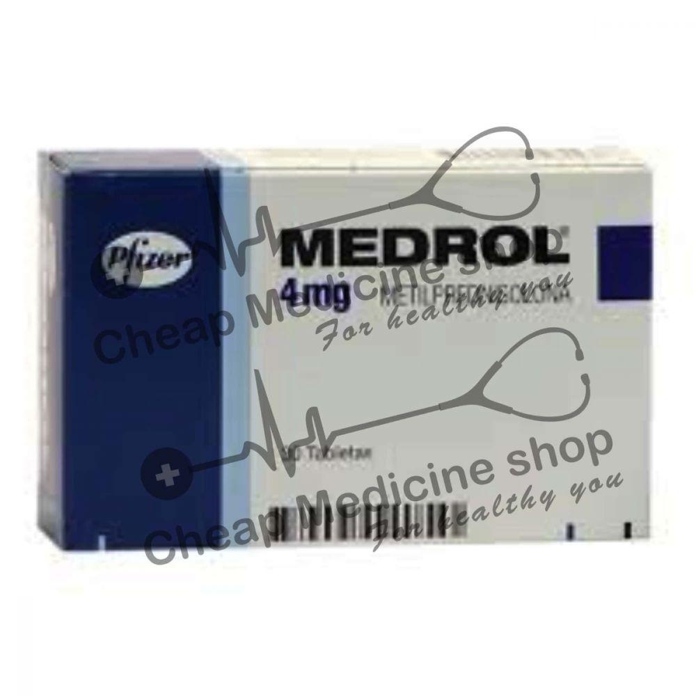 Buy Medrol 4 Mg